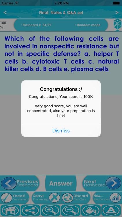 Lymphatic & Immune Systems Exam Prep App 2017 screenshot-4