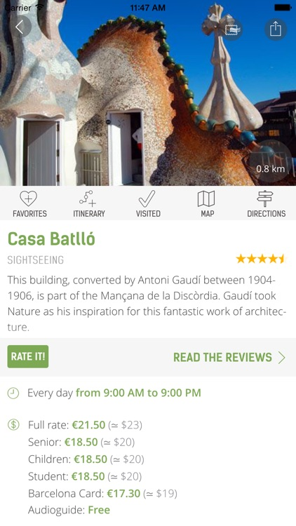 Barcelona Travel Guide (with Offline Maps) screenshot-4