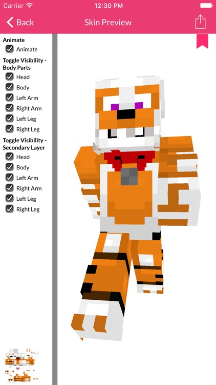 FNAF Skins For Minecraft Edition