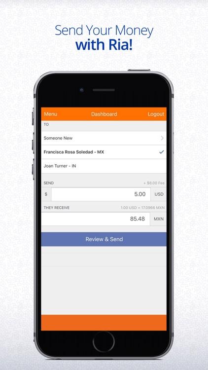 Ria Money Transfer – Send Money