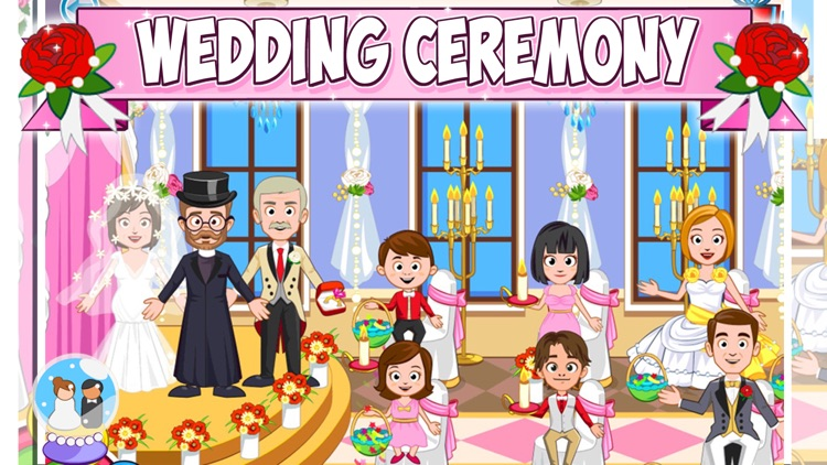 My Town : Wedding Day screenshot-3