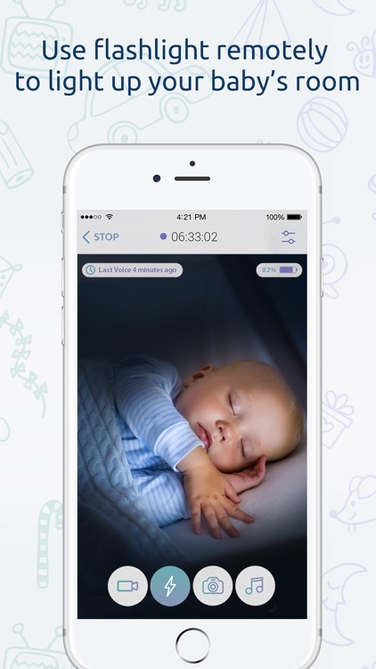 Baby Monitor for iPhone screenshot-3