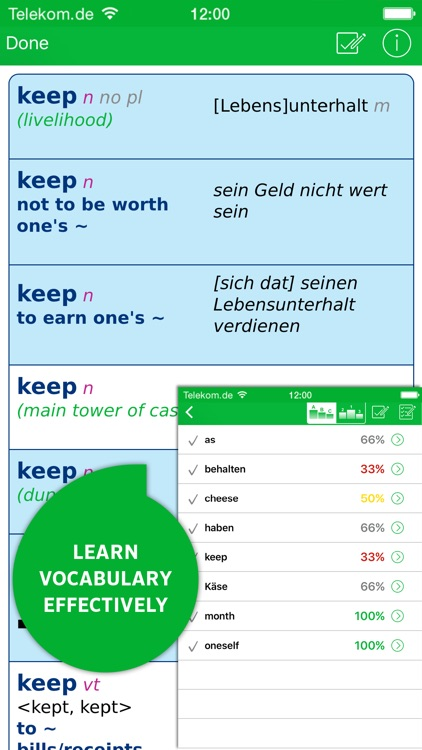Dictionary German - English ADVANCED by PONS screenshot-4