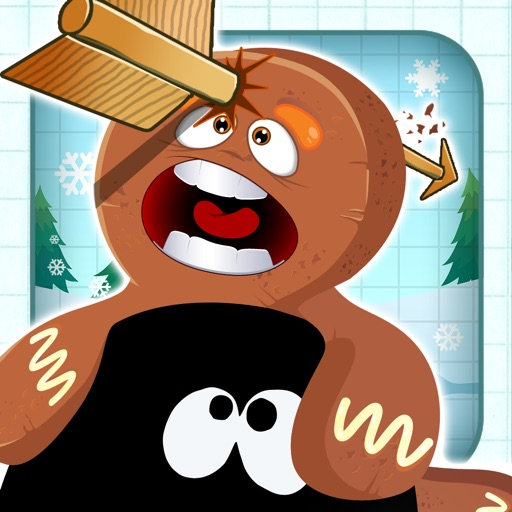 Gingerbread Stickman Bow & Arrow Shooting Showdown
