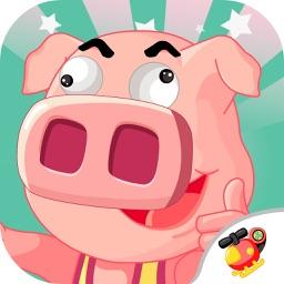 小猪佩奇做蛋糕-宝宝美食甜心儿童游戏