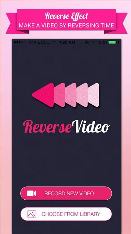 Reverse Video Editor - Rewind, Cutter & Add Music