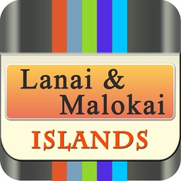 Lanai & Malokai Island Offline Map Travel Explorer