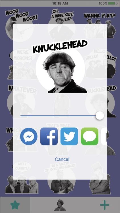 STOOGEMOJIS - The Official Three Stooges Emoji App screenshot-3