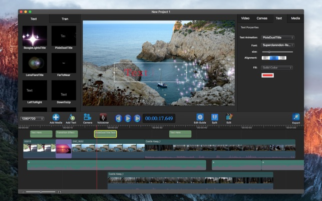 Movie Edit Pro Video Editor On The Mac App Store
