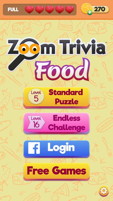 Zoom Trivia - Food Edition