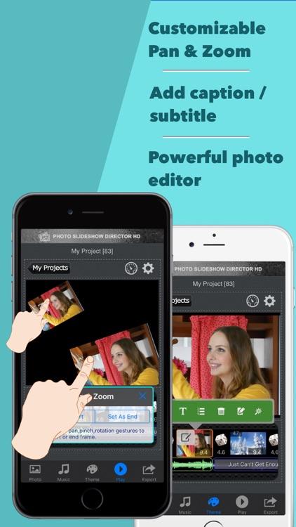 Photo Slideshow Director - Top Music Video Editor screenshot-3