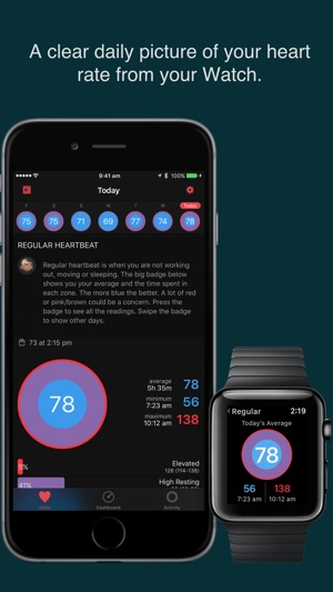 ‎HeartWatch  Heart & Activity