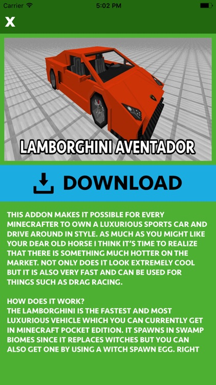 CARS ADDONS FOR MINECRAFT POCKET EDITION (PE) screenshot-3