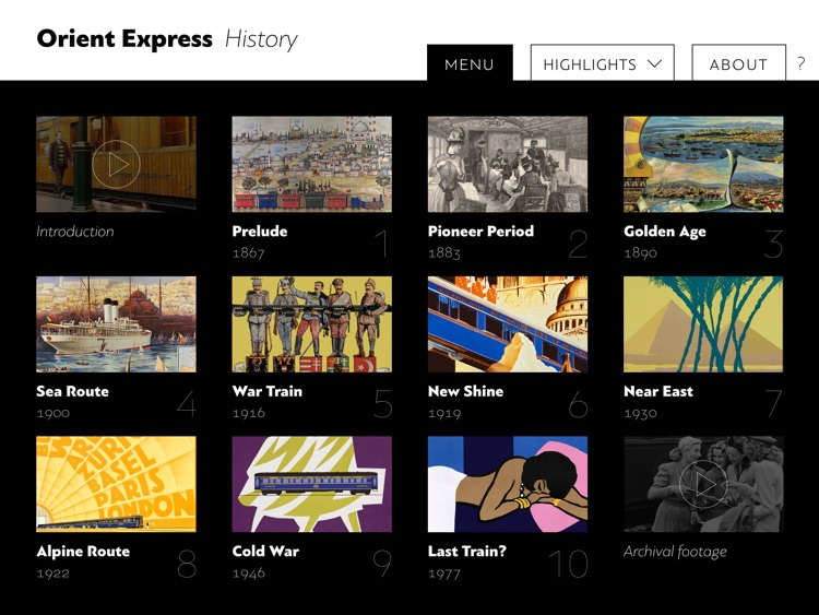 Orient Express History screenshot-0
