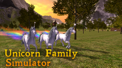 Unicorn Family Simulator screenshot 1