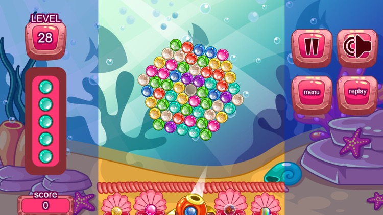 Fish Bubble Shooter Games - A Match 3 Puzzle Game screenshot-3