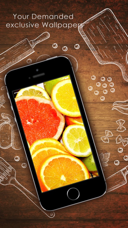 Food Wallpapers - Personalised Your Phone Screen