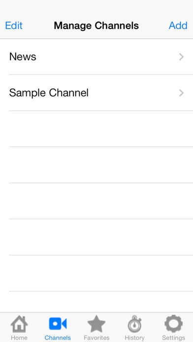 vChannel by Paul Voung (iOS, United States) - SearchMan App