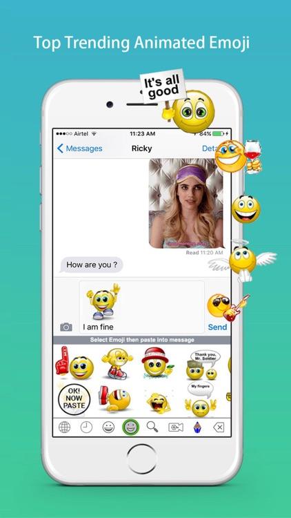Emoji Keyboard - Cute Gif Emoticons, Fun Stickers