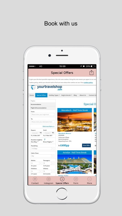 yourtravelshop screenshot four