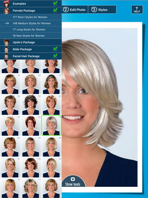 Hairstyle PRO Try On - Hair Styles: Men and Women screenshot-0