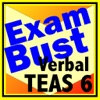TEAS 6 Prep Verbal Flashcards Exambusters