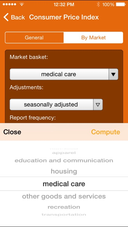 Wolfram US Economic Indicators Reference App