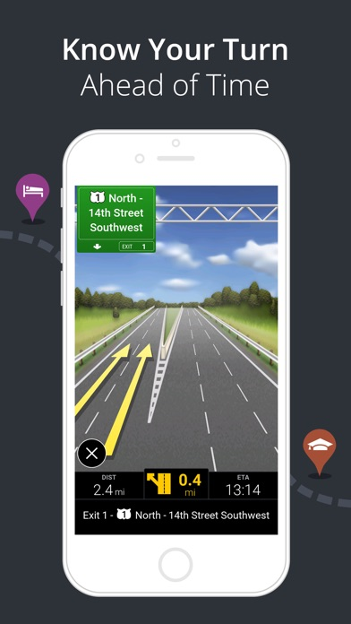 CoPilot GPS – Car Navigation Screenshots