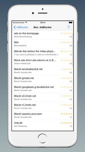 AdBlocker für Safari Screenshot
