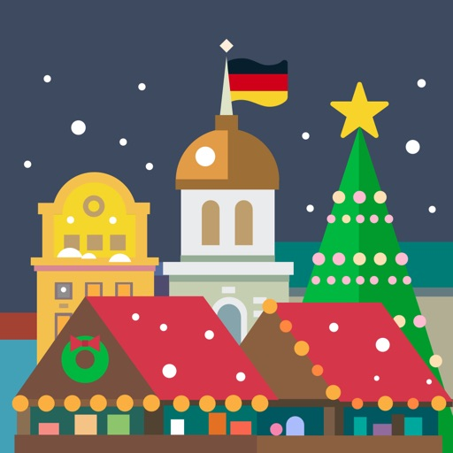 Christmas markets in Germany 2016 icon