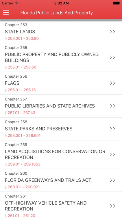 Florida Public Lands and Property