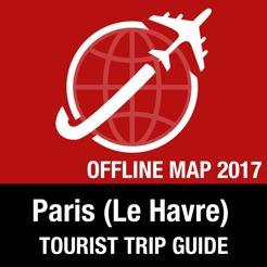 Paris (Le Havre) Tourist Guide + Offline Map