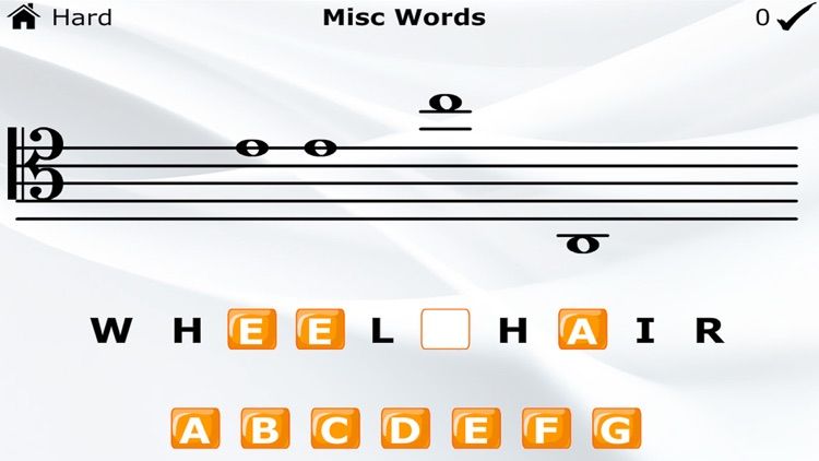 Learn To Read Music Notes (Word Game)
