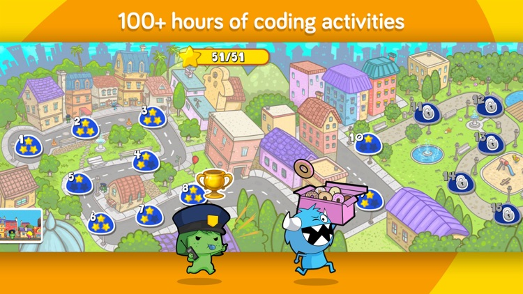 codeSpark Academy with The Foos - coding for kids app image