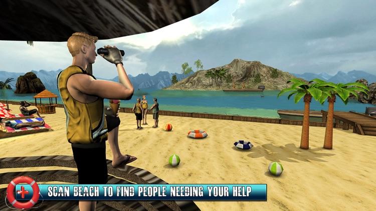Beach Rescue Lifeguard Game