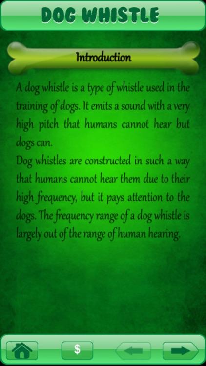 Dog Whistle - Train Your Dog free Dog Whistler screenshot-3