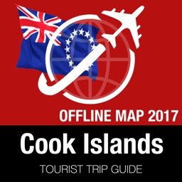 Cook Islands Tourist Guide + Offline Map