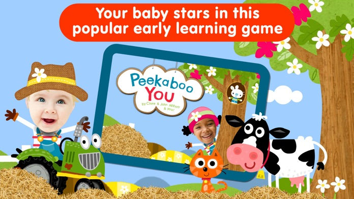 Animal Peekaboo: Baby Games 1+ Screenshot