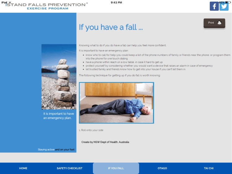 iStand Falls Prevention® Exercise Program screenshot-3