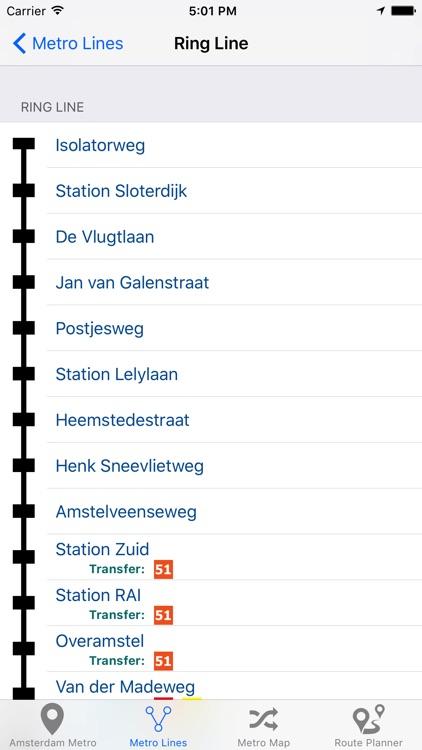 Amsterdam Metro - Subway screenshot-4