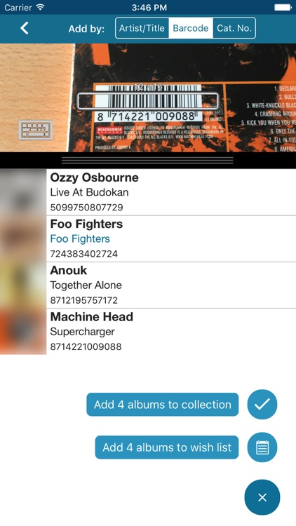 CLZ Music - Music Collection Database app image