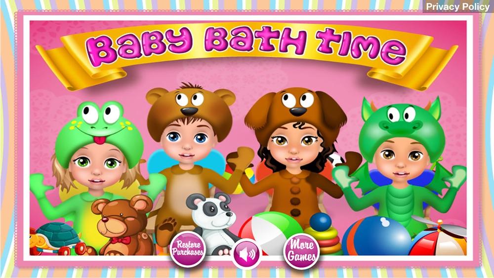 Baby Bath Time – Kids Games (Boys & Girls)