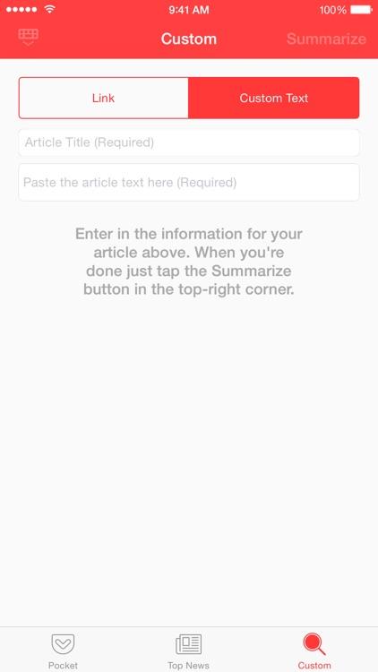 Gist - News Summaries screenshot-4