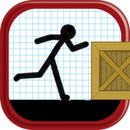 Cartoon Stickman: Jump And Run On Road Premium