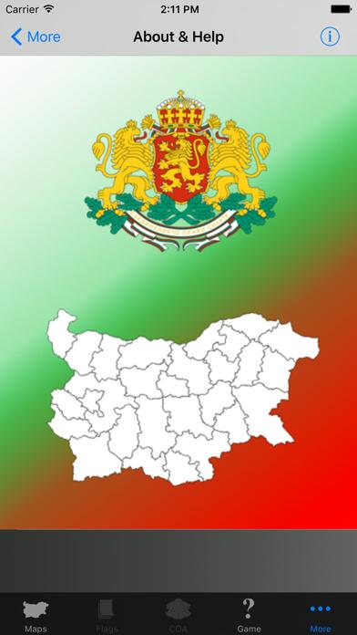 Bulgaria Province Maps and Capitals screenshot four