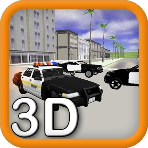 3D City Police Car Driving Training Simulator 2 by Nam