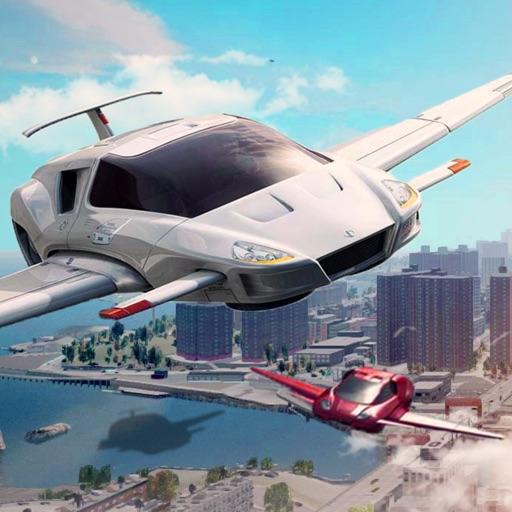 летающий спортивный автомобиль водитель:реактивный
