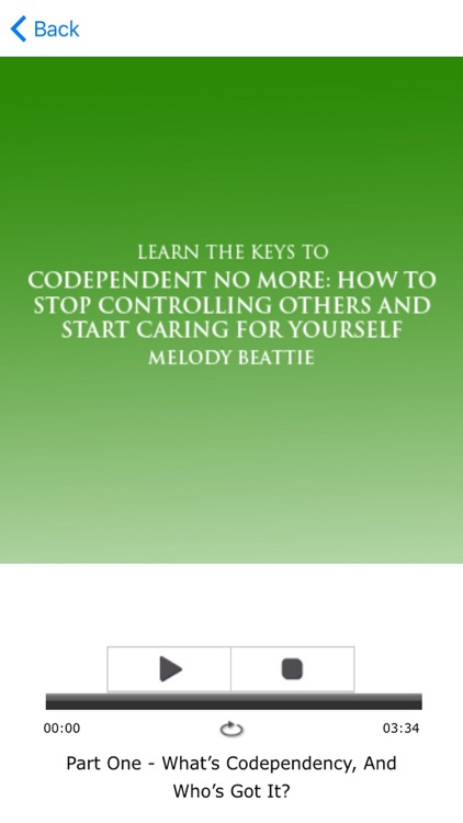 Codependent No More - by Melody Beattie Summary screenshot-3