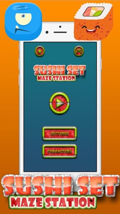 Sushi Set Touch Maze screenshot-4
