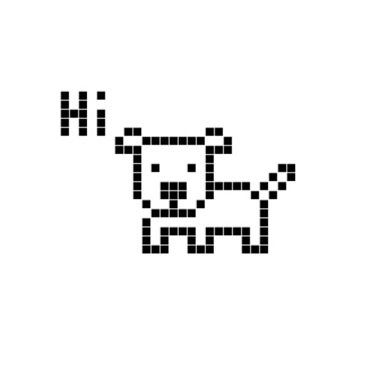 Animated Pixel Dog Stickers for iMessage